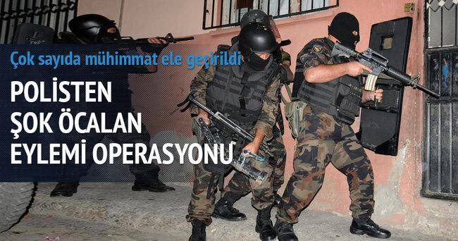Polis'ten Öcalan eylemi operasyonu