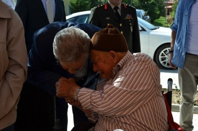 Erzincan'da Bayramlaşma Töreni