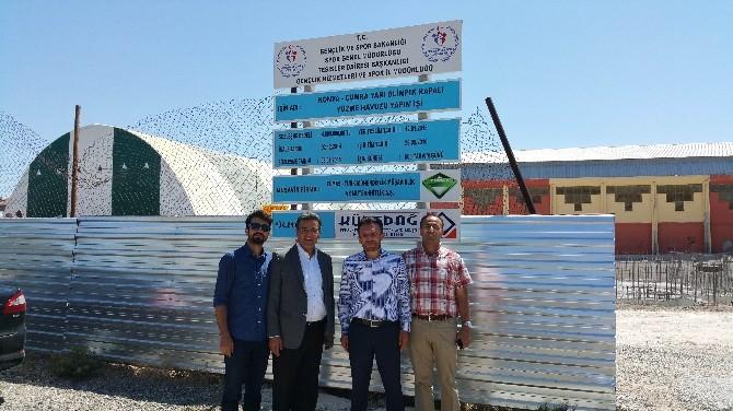 Müsteşar Faruk Özçelik'ten Çumra'ya Ziyaret