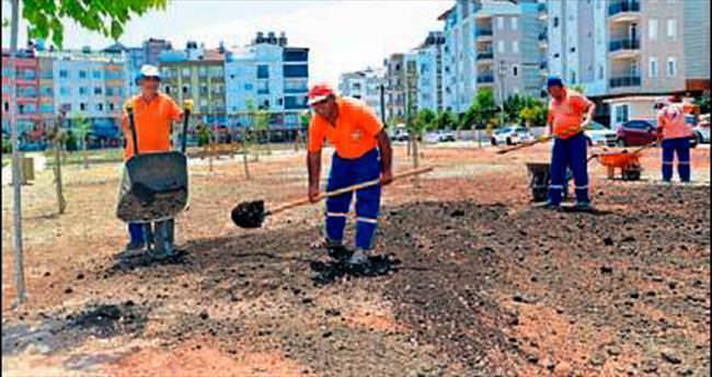 Muratpaşa'da 17 yeni park yapılıyor