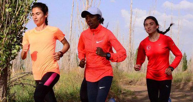 Elvan'ın maraton heyecanı