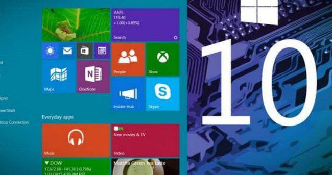Windows 10'un ömrü 10 yıl