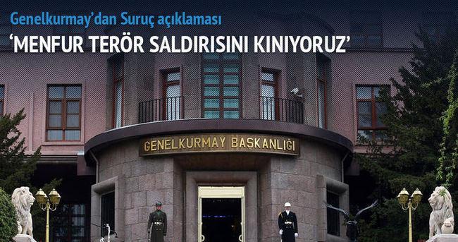 TSK'dan Suruç açıklaması
