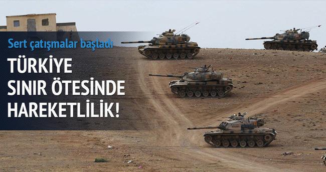 Türkiye sınırı karşısında hareketlilik!