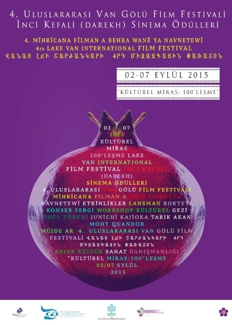 4. Uluslararası Van Gölü Film Festivali Başlıyor