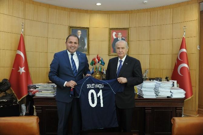 Bahçeli Adana Demirspor'a Başarı Diledi