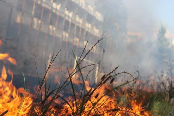 Aydınspor Tesisleri'nde Yangın