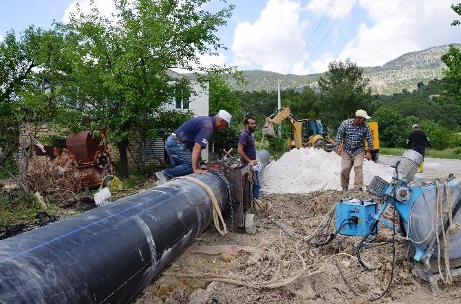 Belenobası'nda 5 Bin 560 Dekar Tarım Alanı Pompajla Sulanacak