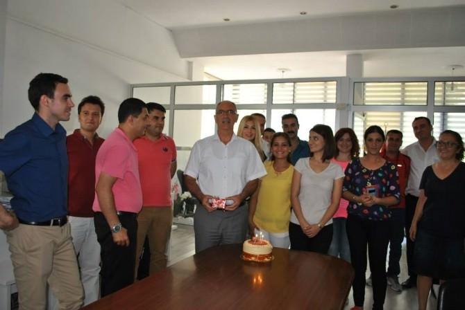 Başkan Kale'ye Sürpriz Doğum Günü