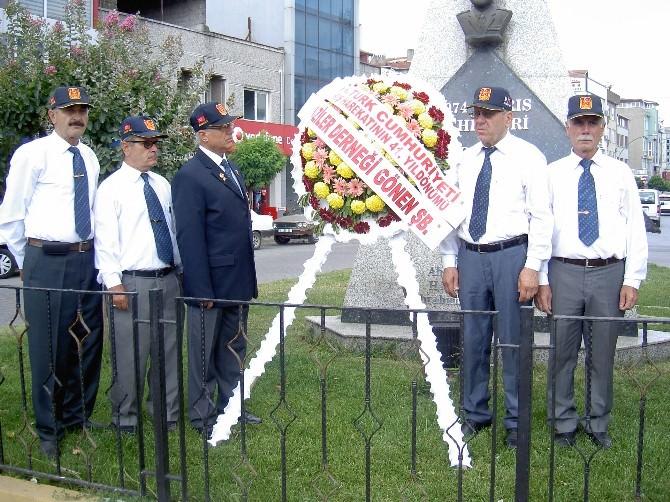 Kıbrıs Barış Harekatı'nın 41'nci Yılı Gönen'de Kutladı