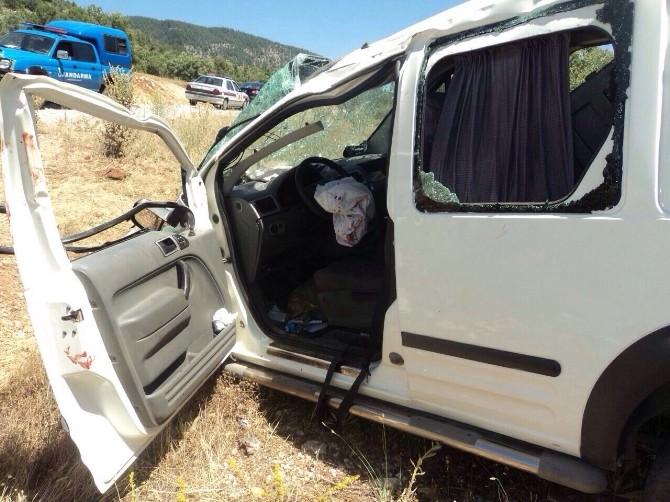 Beyşehir'de Trafik Kazası: 5 Yaralı