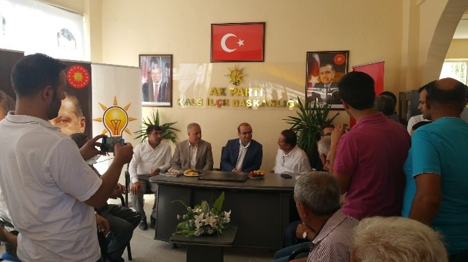 Milletvekili Özhan, Bayramın Son Günü Kale'deydi