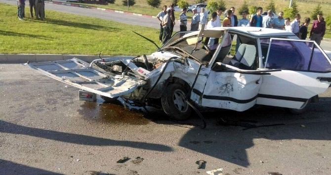 Tavşanlı'da Trafik Kazası: 4 Yaralı