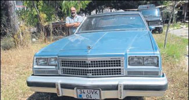 Eski otomobiller düğün arabası oldu