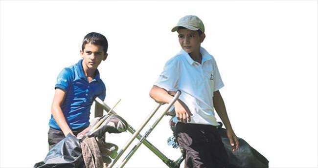 Geleceği golfte arıyorlar