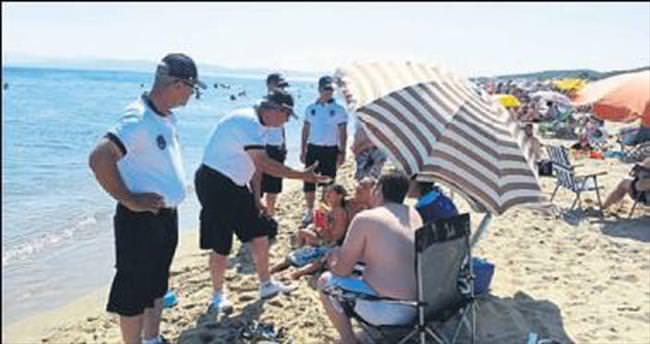 Balıkesir'in plajları zabıtalara emanet