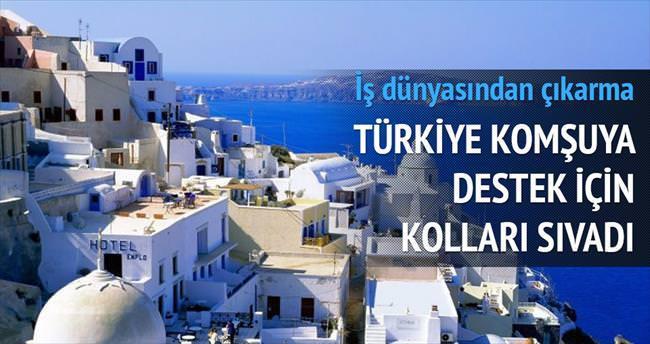İş dünyasından Yunanistan çıkarması