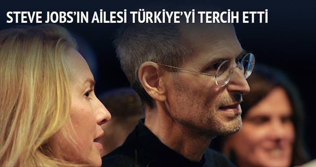 Steve Jobs'un ailesi Göcek'te