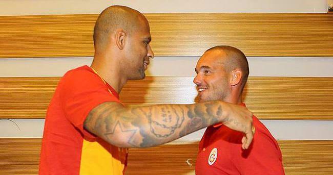 Galatasaray'da Melo ilk antrenmanına çıktı