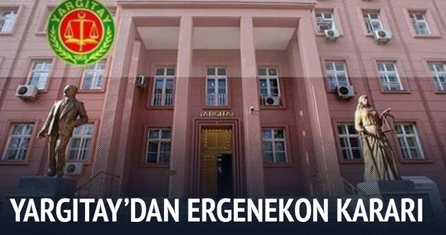 Yargıtay'dan Ergenekon davası için karar