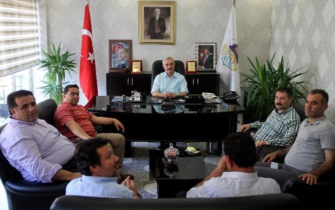 Bekiroğlu'ndan Başkan Karataş'a Ziyaret