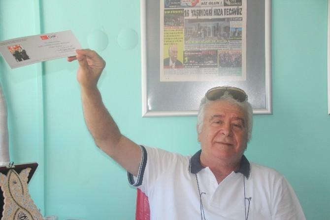 Eski Milletvekili Mehmet Seven, CHP'li Eski İl Başkanı Ve Geçmiş Dönem Belediye Başkan Adayını Eleştirdi
