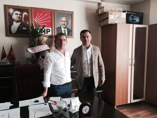 Milletvekili Barış Yarkadaş, CHP'yi Ziyaret Etti