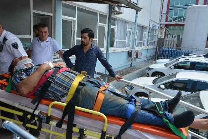 Fatsa'da Düşme Vakaları: 2 Yaralı