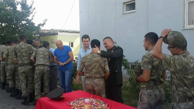 Viranşehir'de Mehmetçik Yarbay Kaplan İçin Sevgi Seli