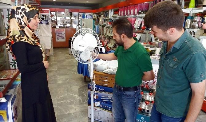 Sıcaklar Vantilatör Satışlarını Artırdı