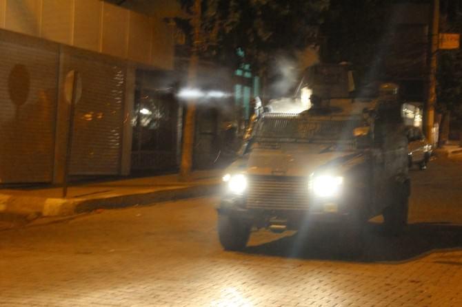 Silopi'de Yüzü Kapalı Grup Eylem Yaptı
