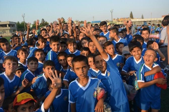 Ceylanpınar Belediyesi Yaz Spor Okulu Açıldı