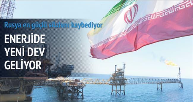 Enerji alanında İran Rusya'ya rakip olacak
