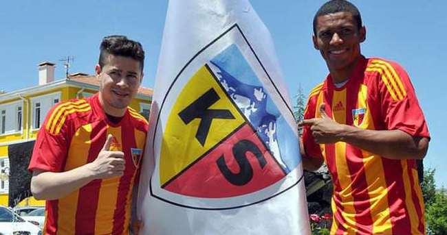 Kayserispor'un Brezilyalıları imzaladı