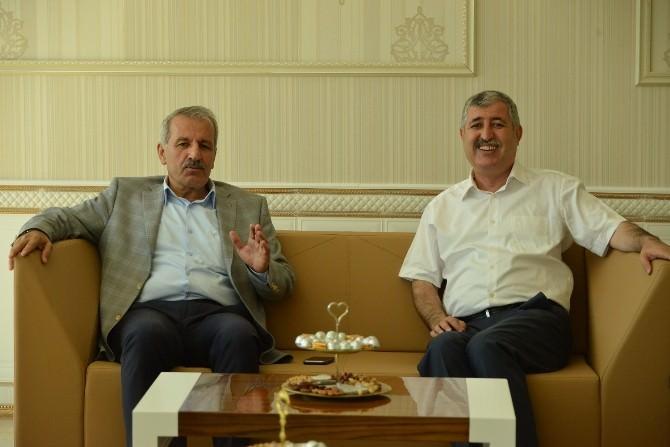 Milletvekili Mustafa Şahin, Başkan Polat'ı Ziyaret Etti