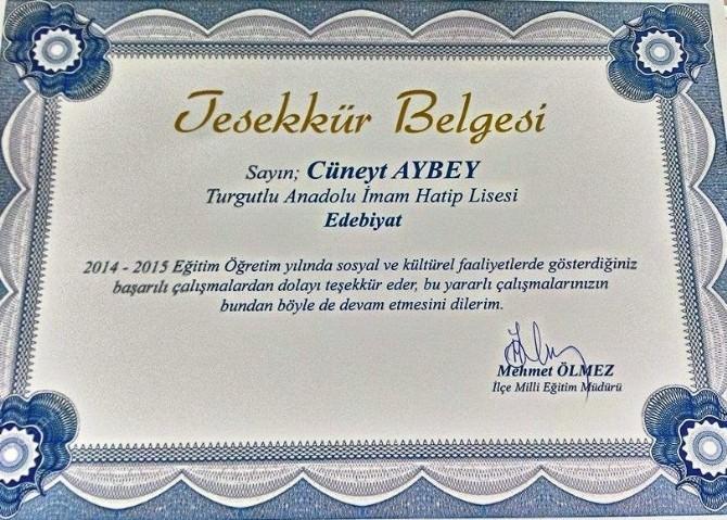 Mehmet Akif Tiyatrosu Ödül Kazandırdı