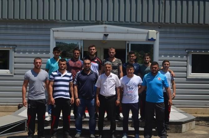 Kangal, Yavuz Ve Özdemir'i Edirne'ye Uğurladı