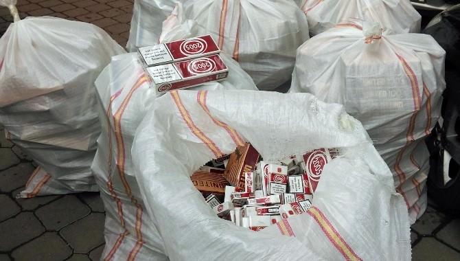Kırıkkale'de 5 Bin Paket Kaçak Sigara Ele Geçirildi