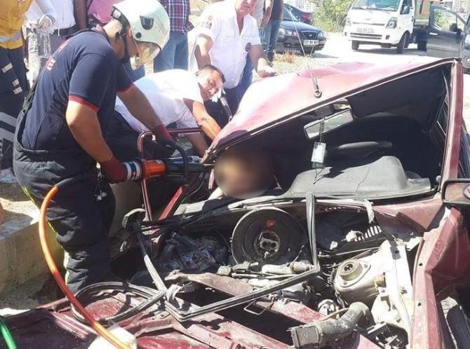 (Düzeltme) Malatya'da Trafik Kazası: 1 Ölü, 1 Yaralı
