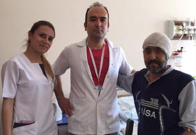 Nevşehir'de İlk Kez Kafa Kaide Tümörü Ameliyatı Yapıldı