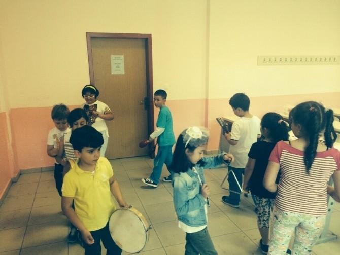 Nüsem Çocuk Üniversitesi Oyun, Dans Ve Müzik Programı Sona Erdi