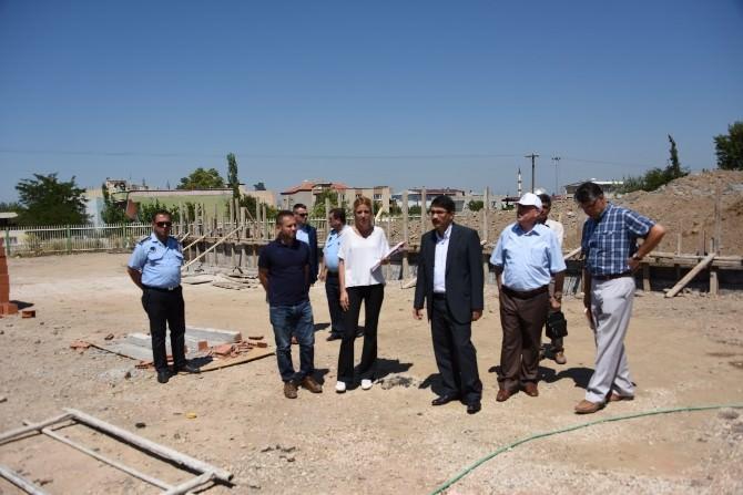 Başkan Çelik, Şehzadeler Spor Kompleksini İnceledi