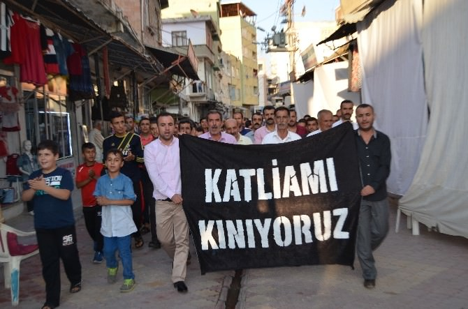 Silvan Esnafından Suruç'taki Olaya İlişkin Kınama
