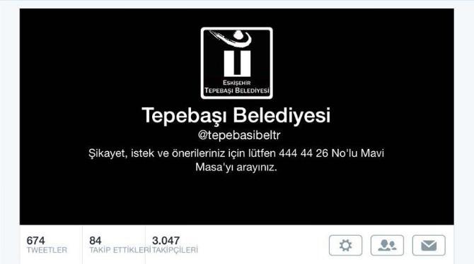 Tepebaşı Belediyesi Türkiye'nin Yasına Ortak Oldu