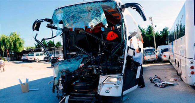 Polatlı'da feci kaza: 36 yaralı