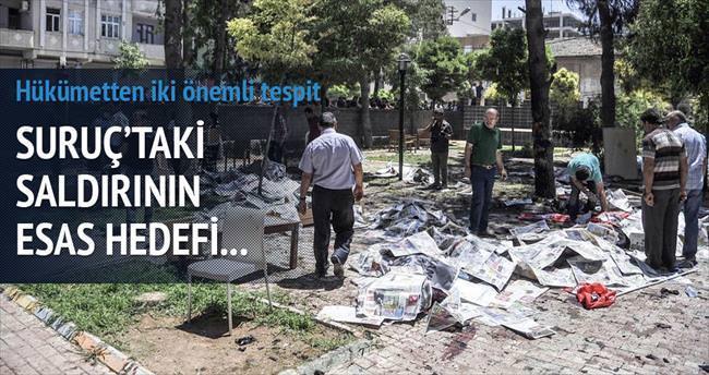 Suruç'ta hedef Gezi ve 6-8 Ekim'i birleştirmek