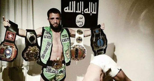 IŞİD dünya şampiyonunu infaz etti