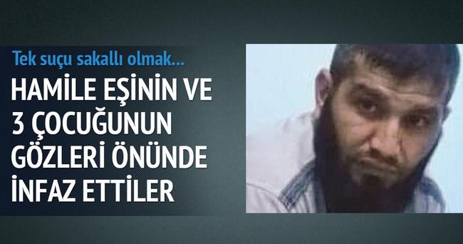IŞİD'çi diye tehdit edilen işçi, ailesinin önünde öldürüldü