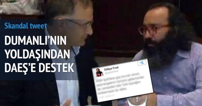 Gökçe Fırat'tan skandal tweet