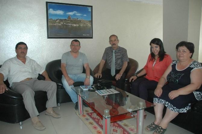 Azerbaycan Diasporasından ASİMDER'e Ziyaret